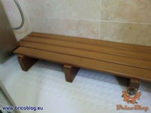 Tarima tipo sauna