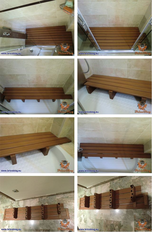 Tarima tipo sauna - galeria fotos