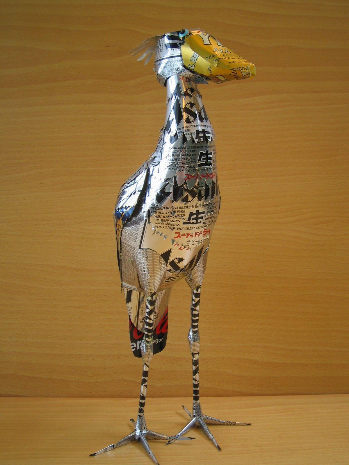reciclado latas animales 10