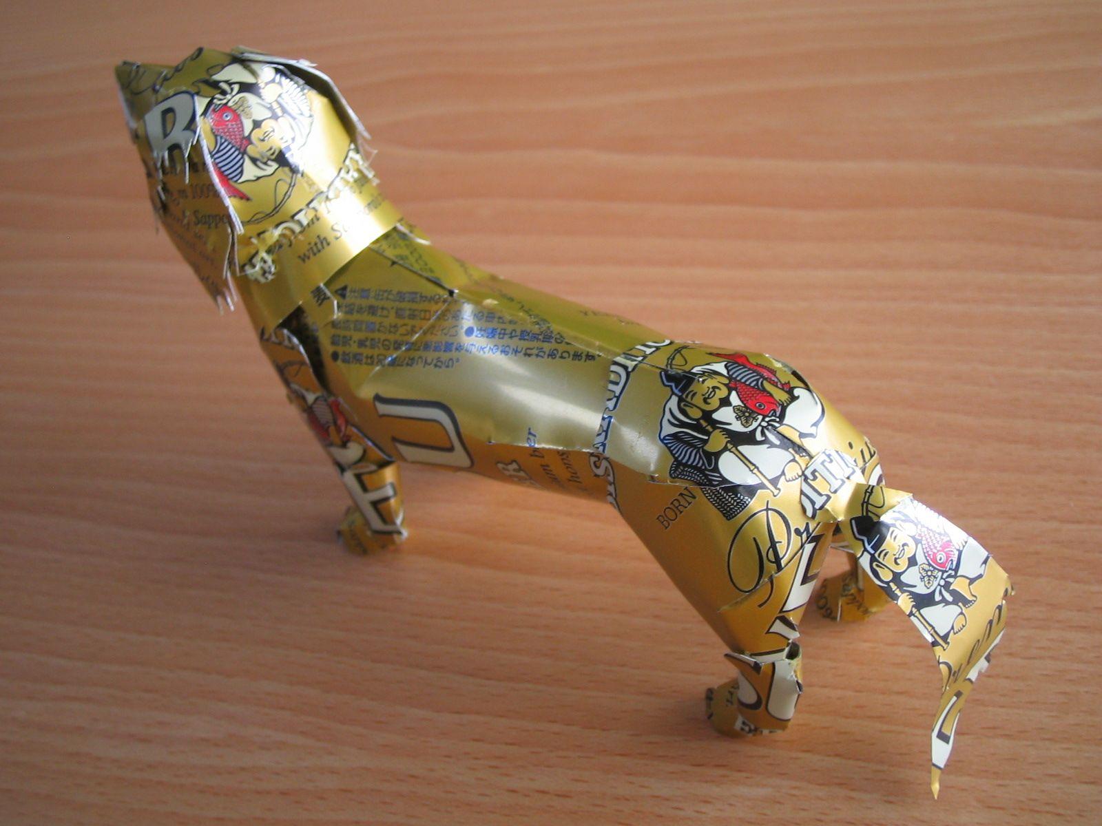 reciclado latas animales 16