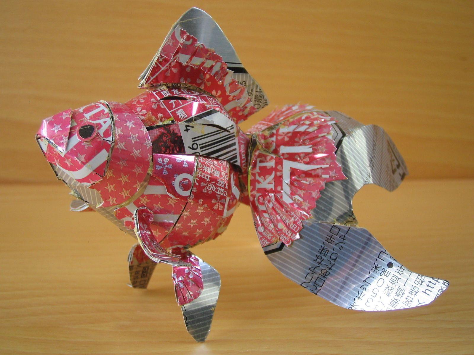 reciclado latas animales 18