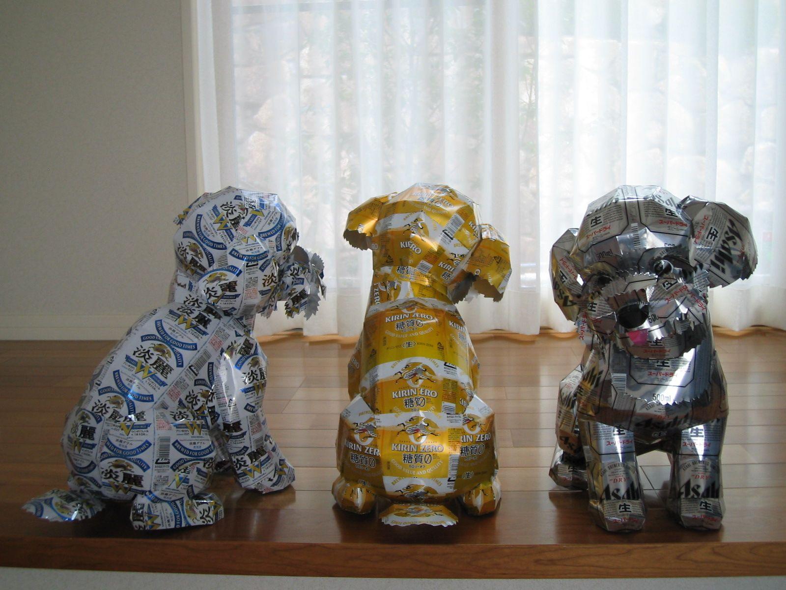 reciclado latas animales 31