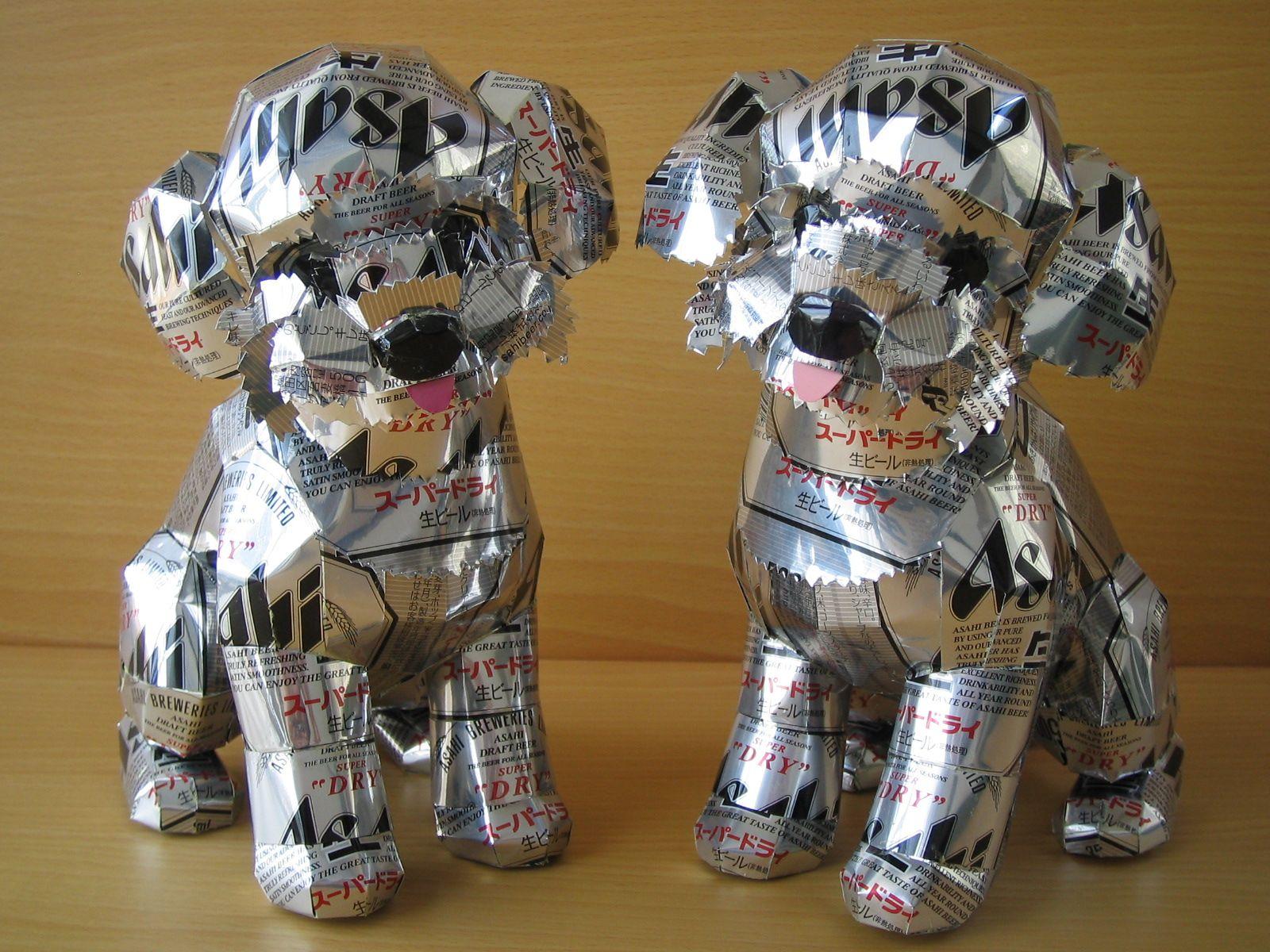 reciclado latas animales 34