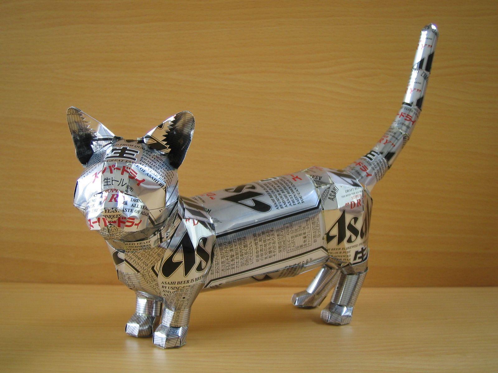 reciclado latas animales 6