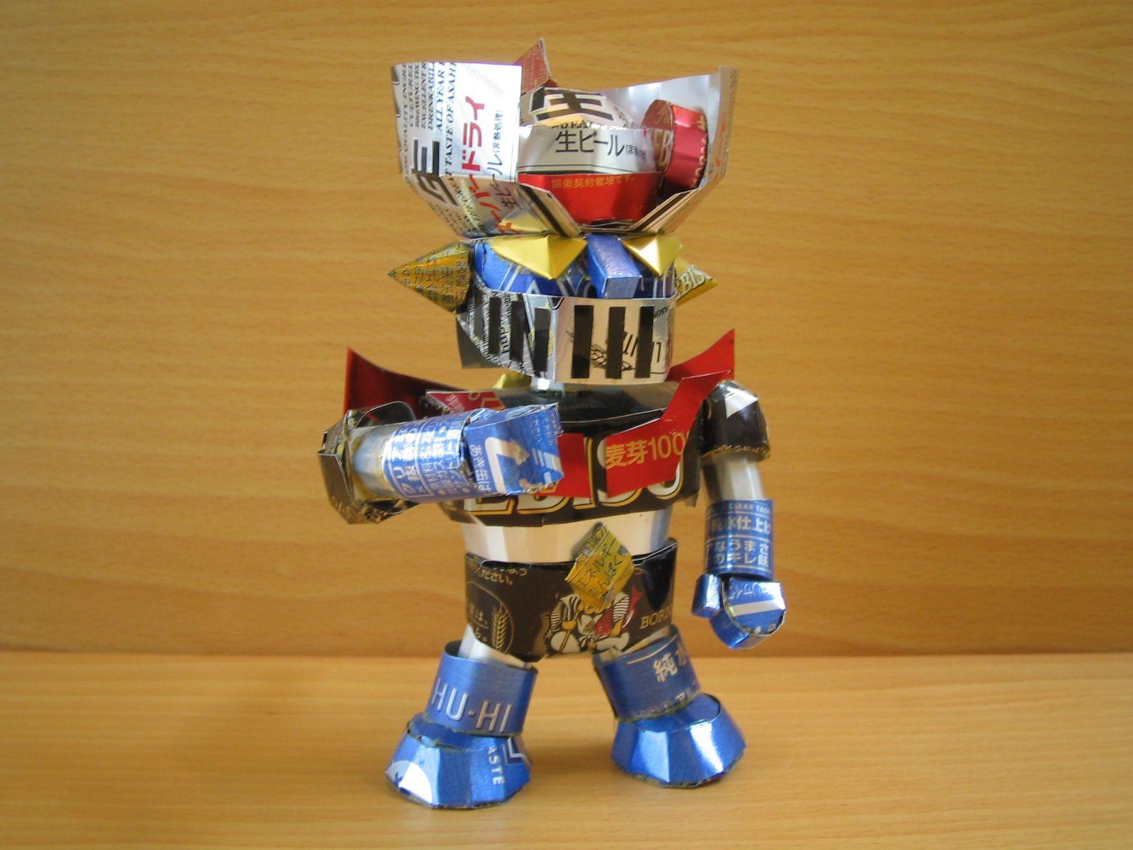 reciclado latas personajes 13