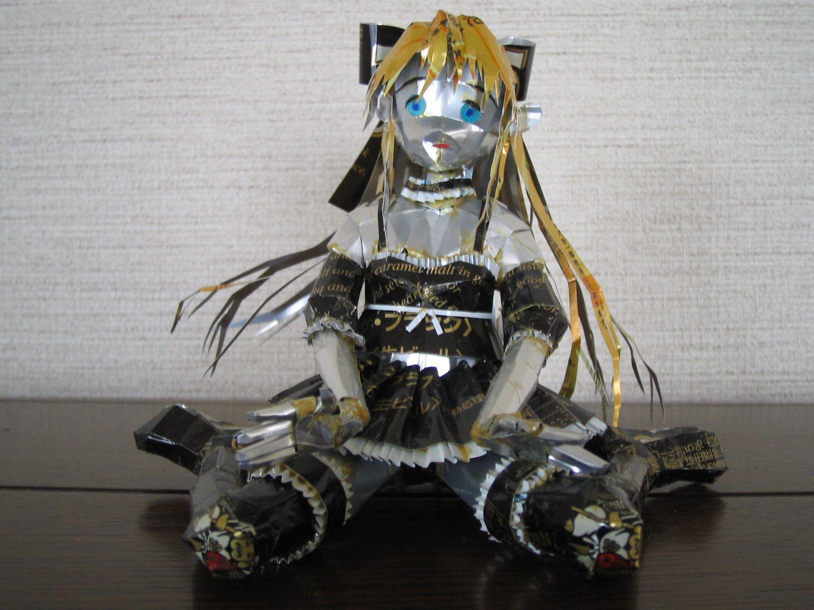 reciclado latas personajes 15