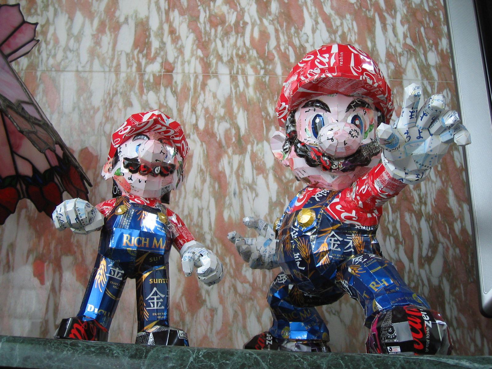 reciclado latas personajes 16