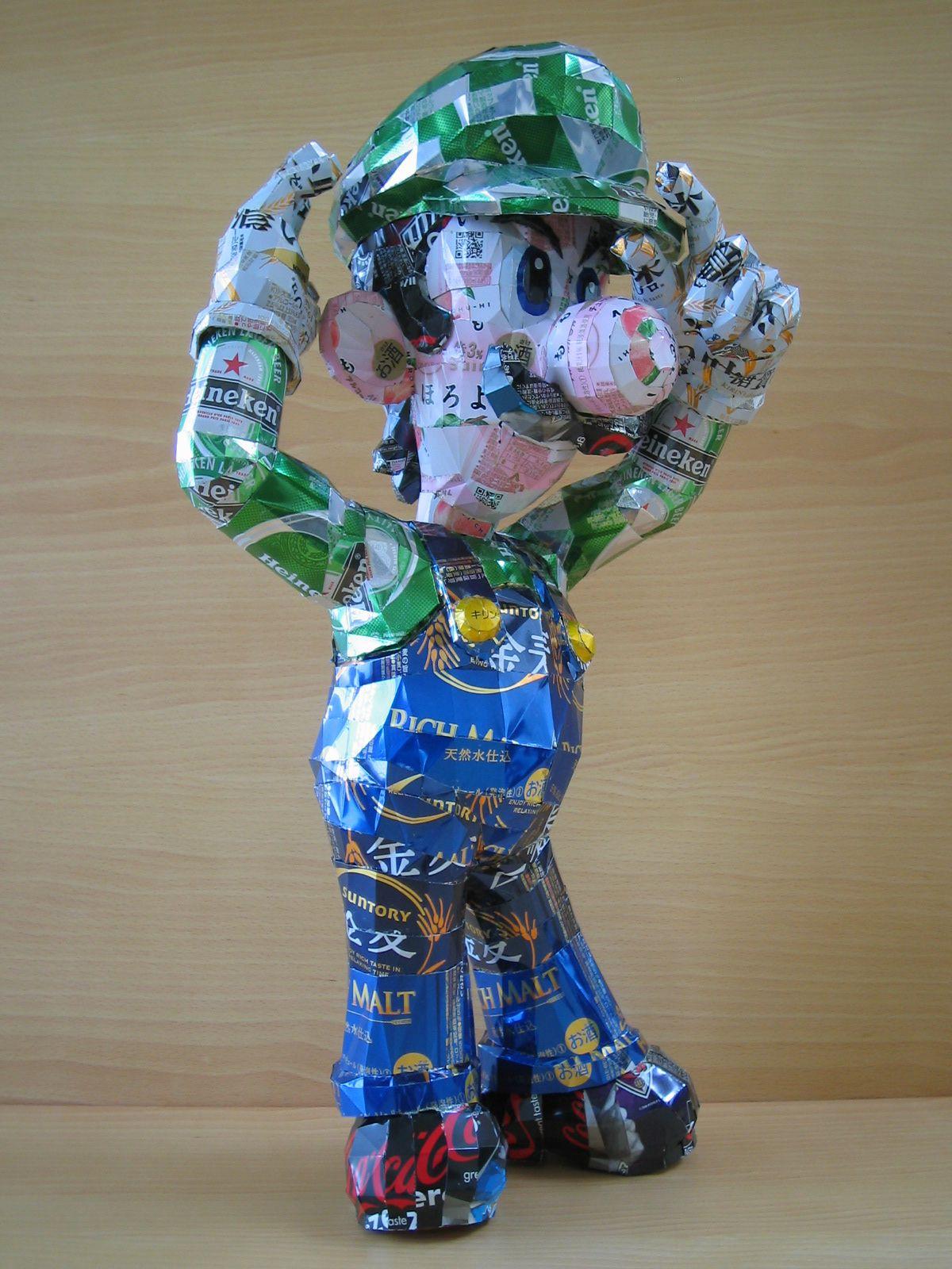 reciclado latas personajes 17