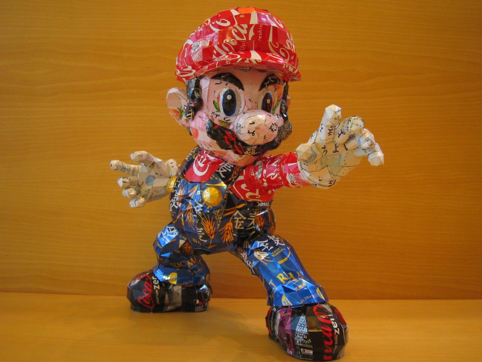 reciclado latas personajes 18