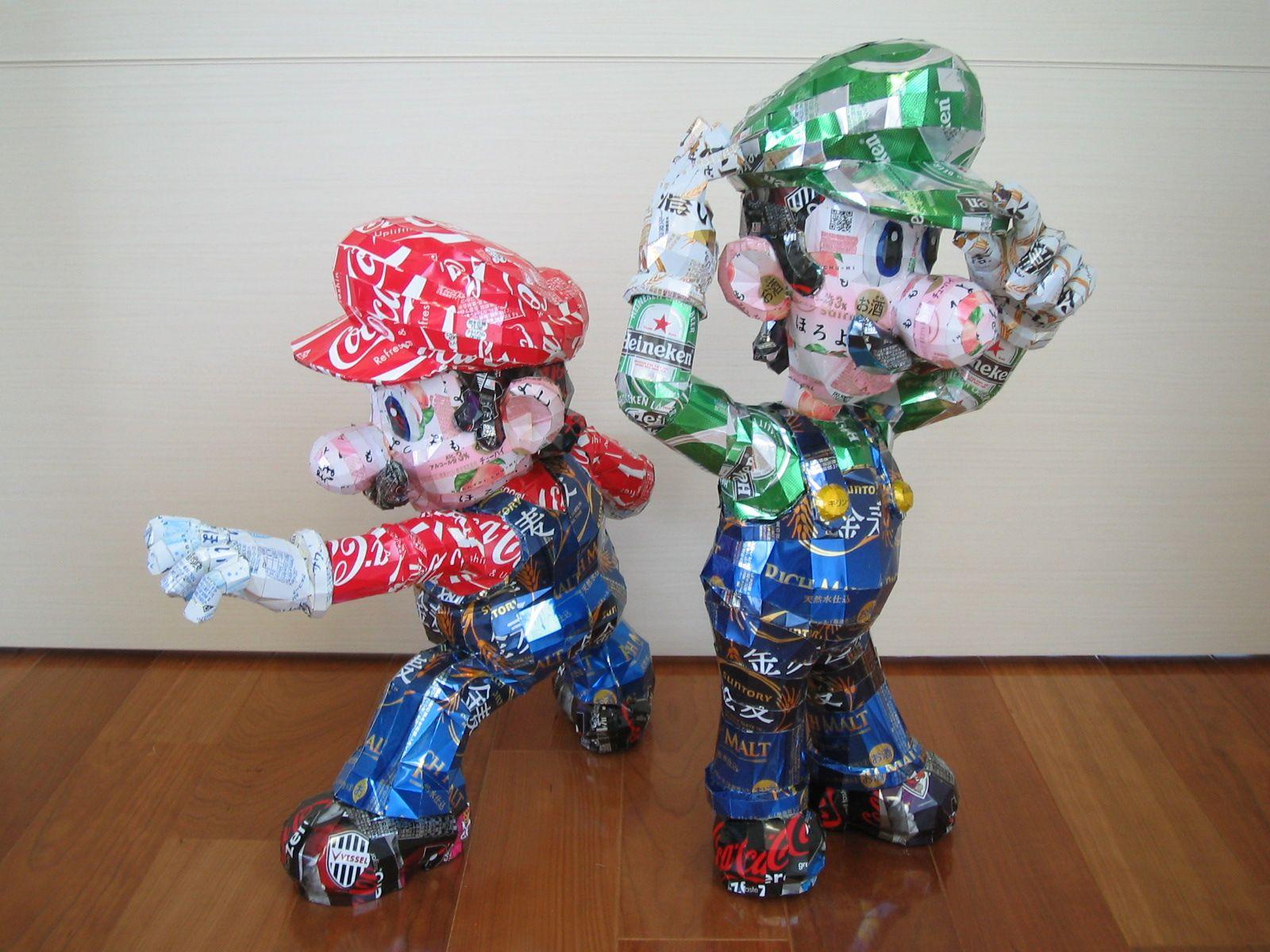 reciclado latas personajes 19
