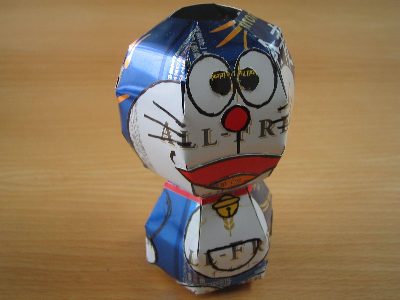 reciclado latas personajes 20