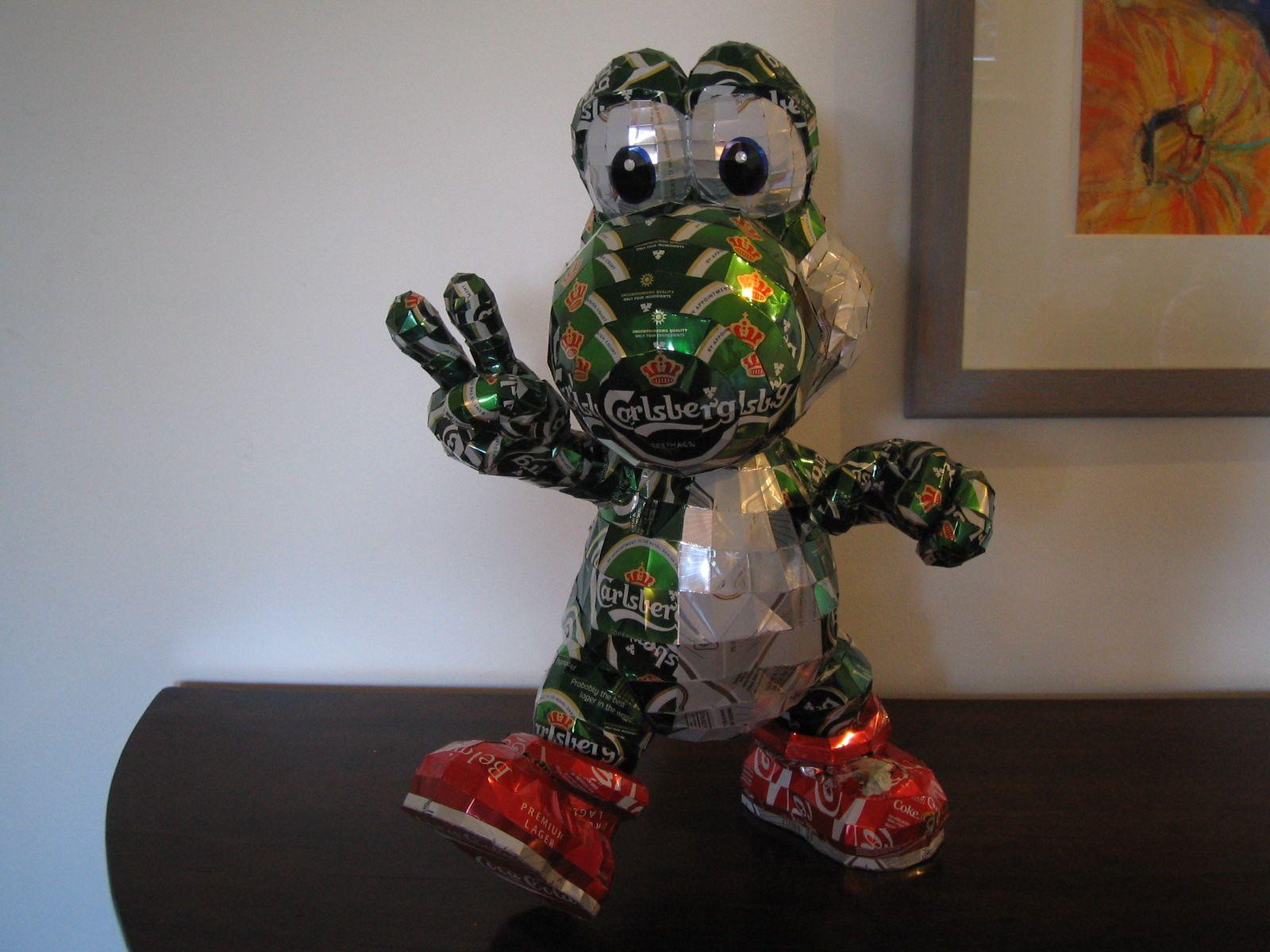 reciclado latas personajes 22