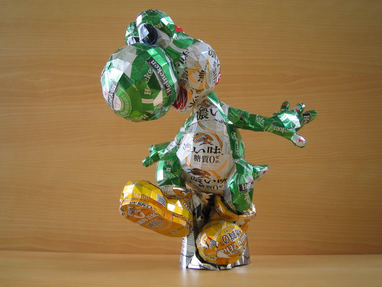 reciclado latas personajes 23