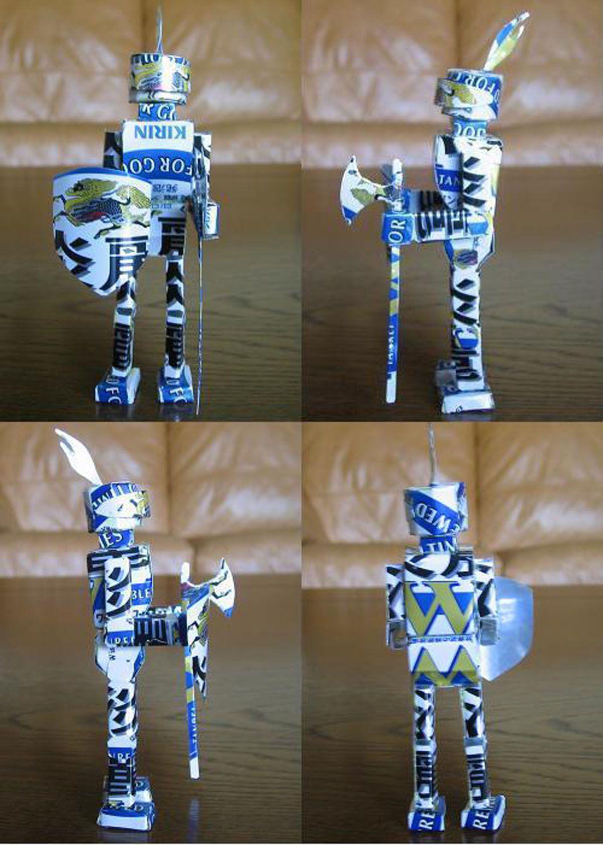 reciclado latas personajes 26