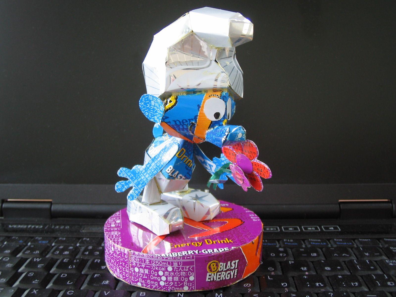 reciclado latas personajes 28