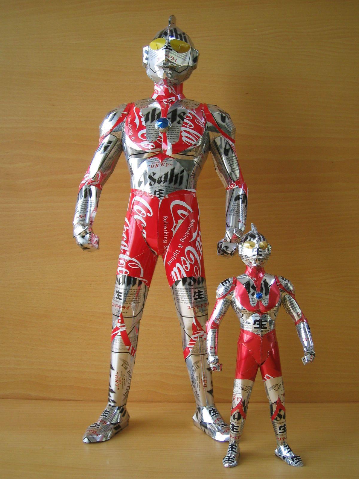 reciclado latas personajes 4