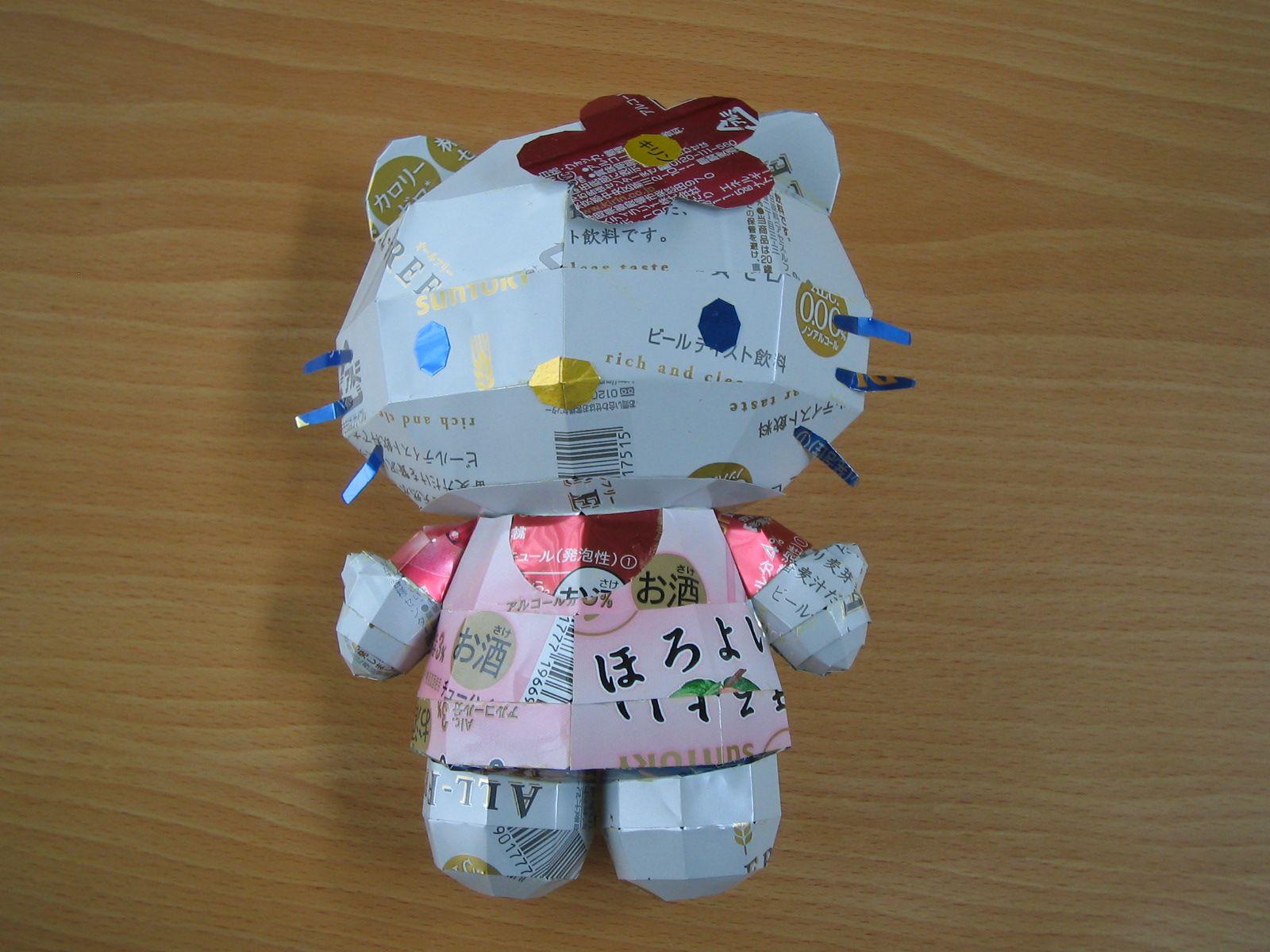 reciclado latas personajes 6