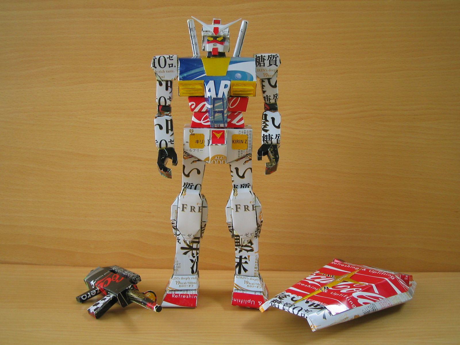 reciclado latas personajes 9