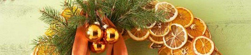 Guirnaldas de Navidad creativas