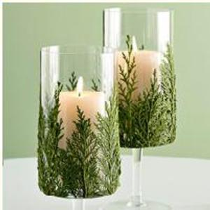 candelabros navideños con velas paso4