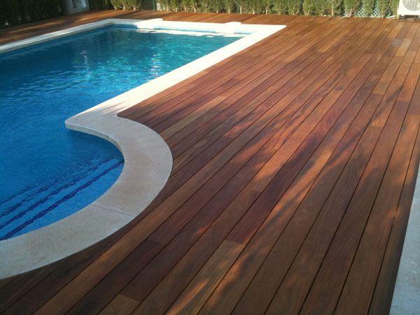 Ipe madera especial para exteriores