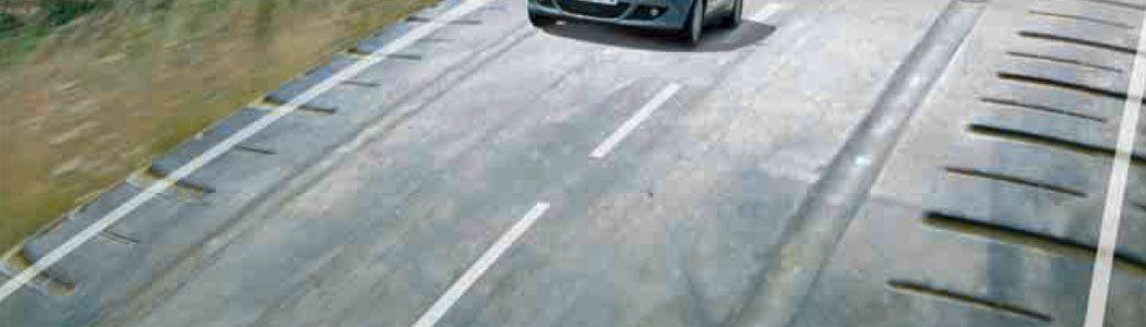 carreteras con neumaticos reciclados