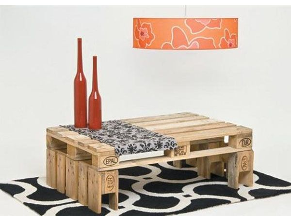Ideas creativas para reciclar palets de madera bricoblog Muebles hechos con estibas