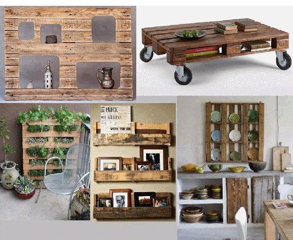 Ideas Creativas Para Reciclar Palets De Madera Bricoblog - Cosas-con-palets