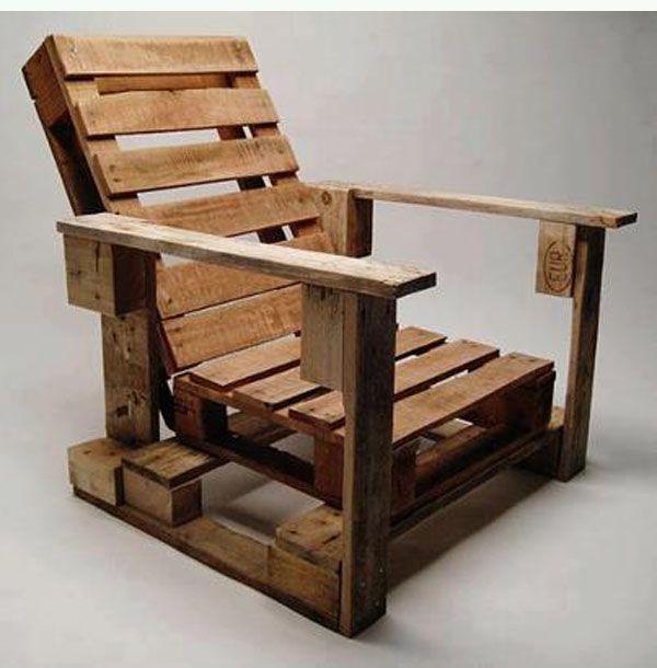 Ideas creativas para reciclar palets de madera bricoblog for Cosas con madera reciclada