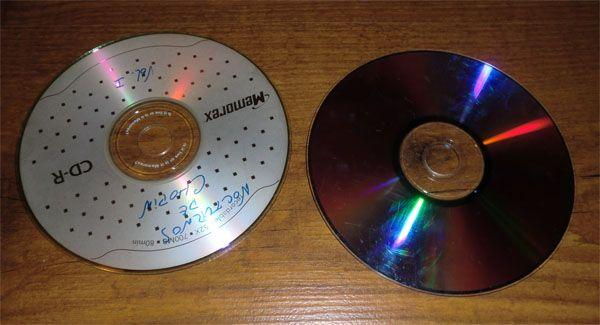 tecnica craquelado cds y dvds 1