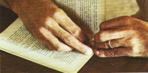 cosido artesanal de libros
