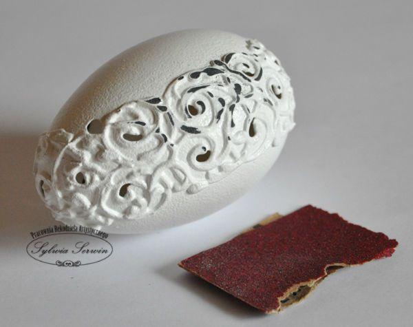 manualidades decoupage reciclando huevos