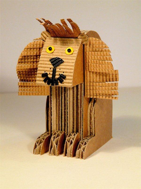 reciclado creativo de manualidades con carton 54