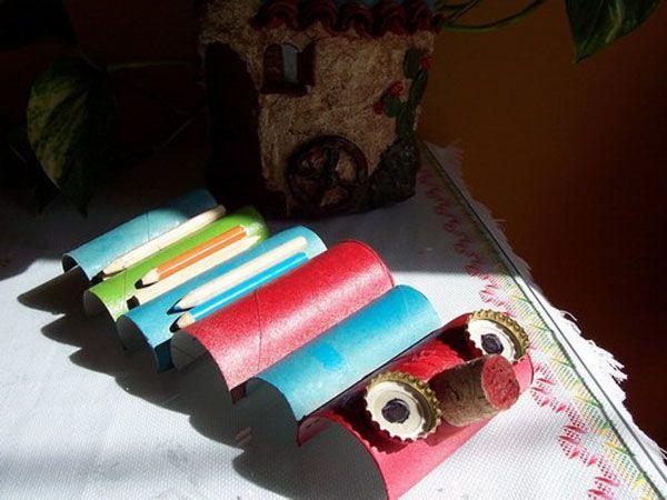reciclado creativo de manualidades con carton 62