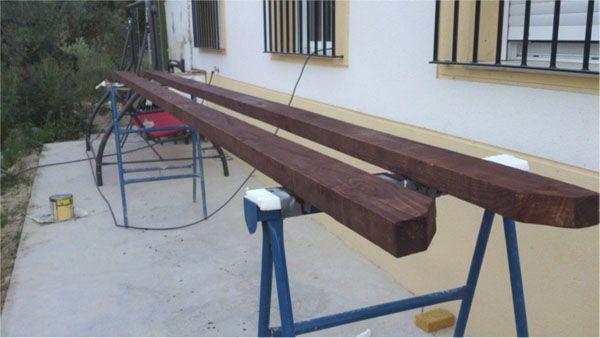 como hacer una pergola de madera