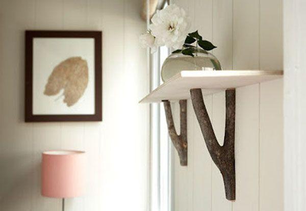 Hacer objetos decorativos reciclando ramas secas for Objetos decorativos casa