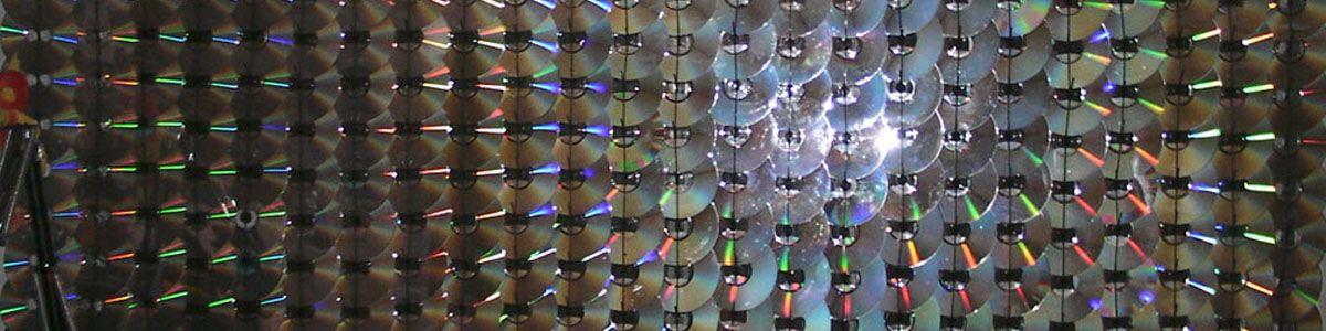 manualidades de reciclado de cds y dvs