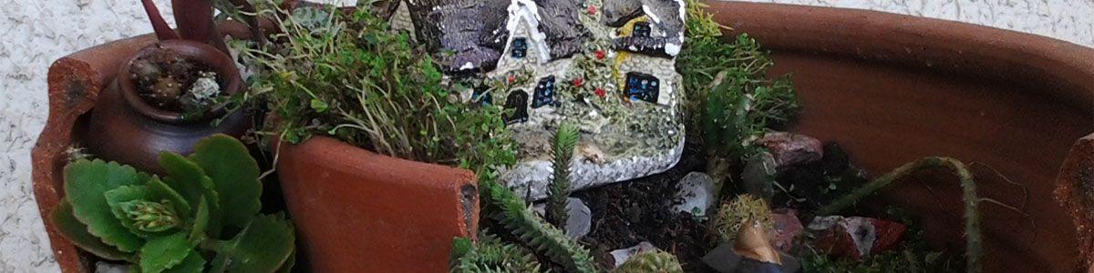 el jardin del eden diy reciclando tiesto roto
