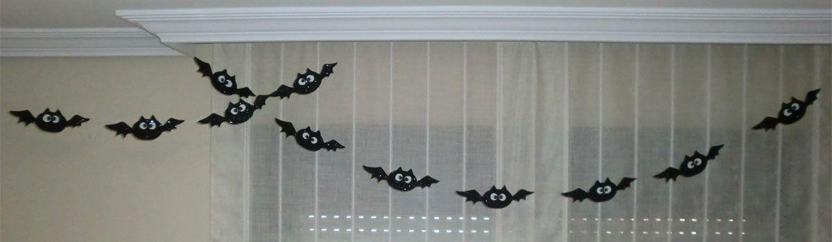 Decoracion especial Halloween – Simpáticos murciélagos
