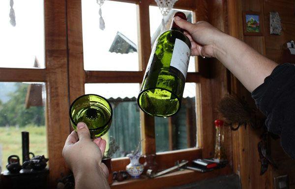 Como cortar botellas de cristal y vidrio