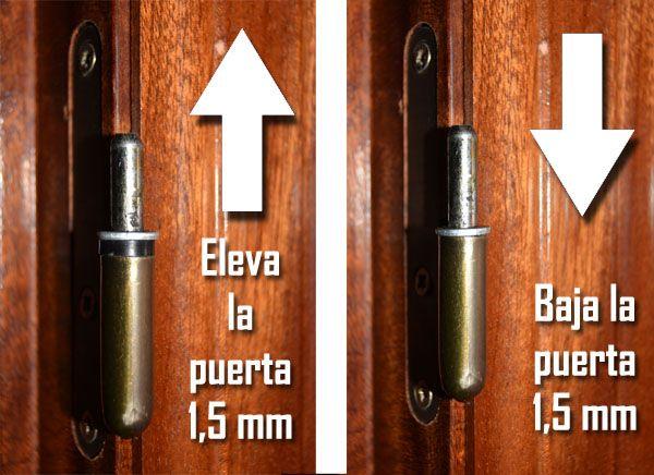 Truco de bricolaje para que las puertas no rocen