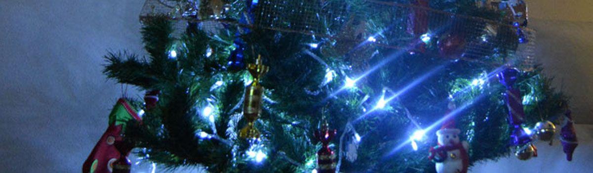 Realza el árbol de Navidad