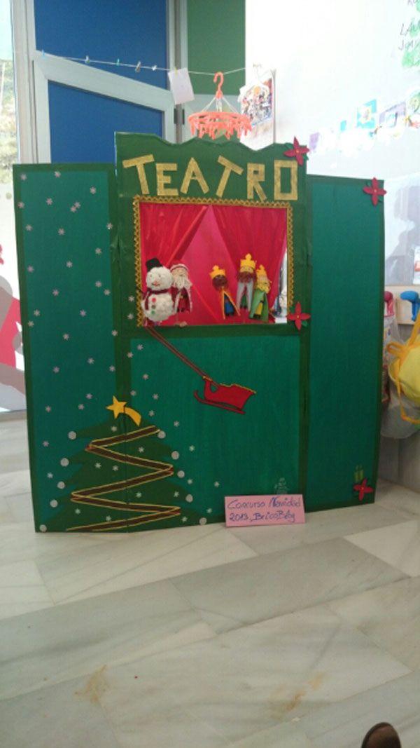 Teatro de titeres navideños