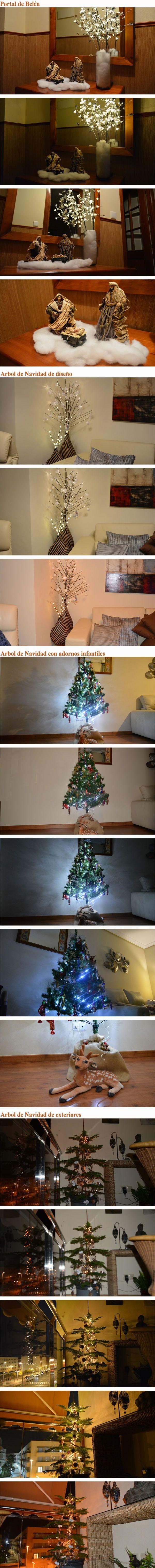 Decoracion tradicional para Navidad