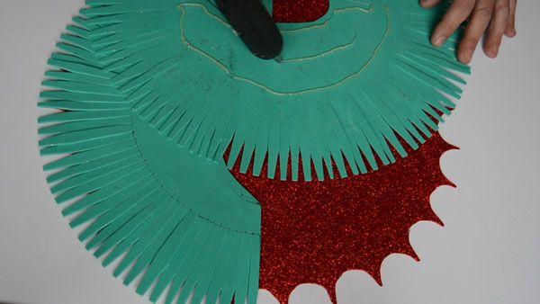 Guirnalda De Navidad En Goma Eva Bricoblog