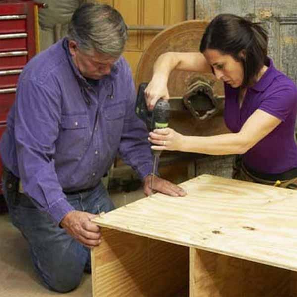 fabrica banco de trabajo para tu bricolaje y manualidades