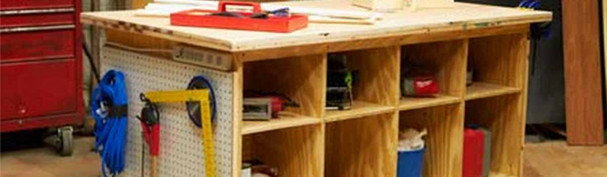Fabrica un banco de trabajo para tu bricolaje y manualidades