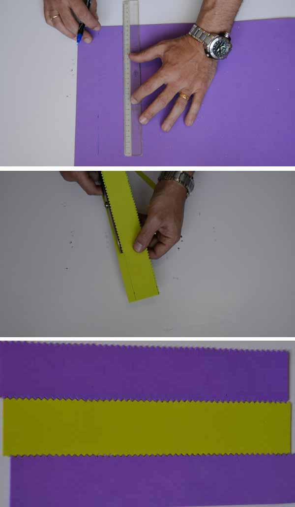 Porta lapices cortar tiras 2 capa 9
