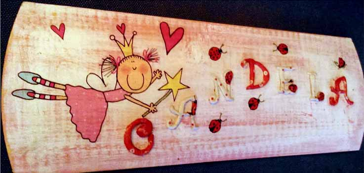 cartel infantil personalizado