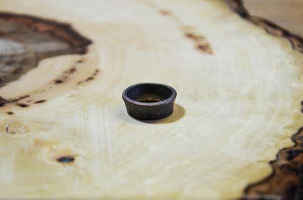moneda en anillo apariencia provisional